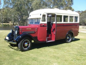 Diamond T Bus by Goode Restorations